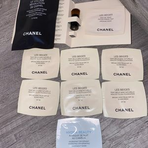 CHANEL 8 Piece foundation set and hydra beauty smp